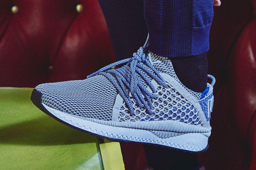 PUMA's Tsugi Netfit sneaker, as worn by rapper The Weeknd