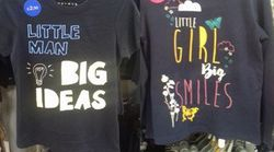 Morrisons Criticised For 'Sexist' Slogans On Kids'