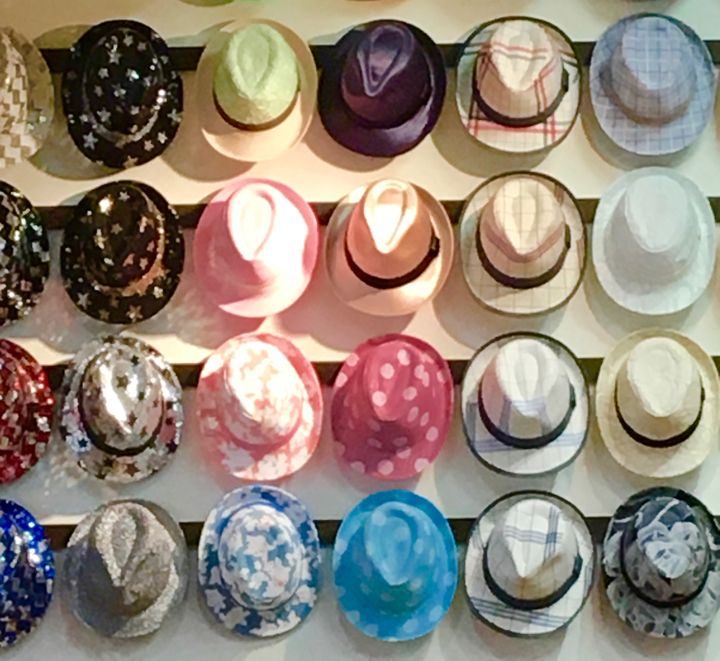 Stylish hats for the fashionably cool gentleman.