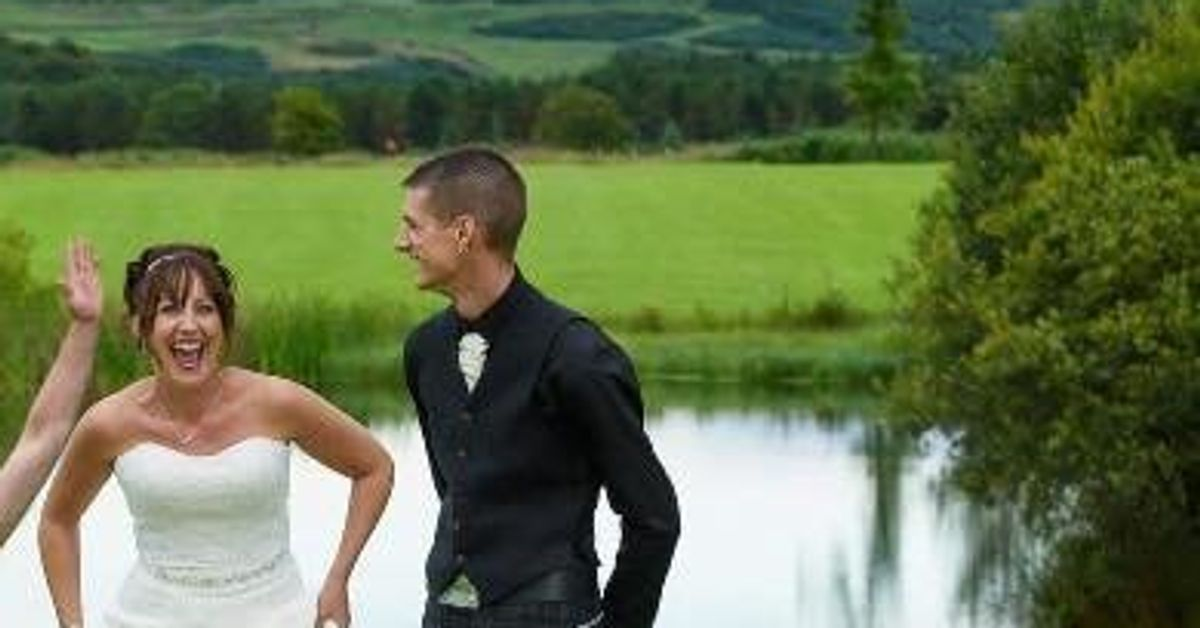 Naked Man Gives Couple Wedding Day To Remember With
