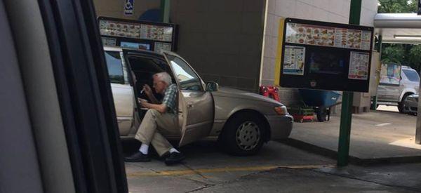 Elderly Man's 'Beautiful Display Of Love' Captures Hearts Across The Globe