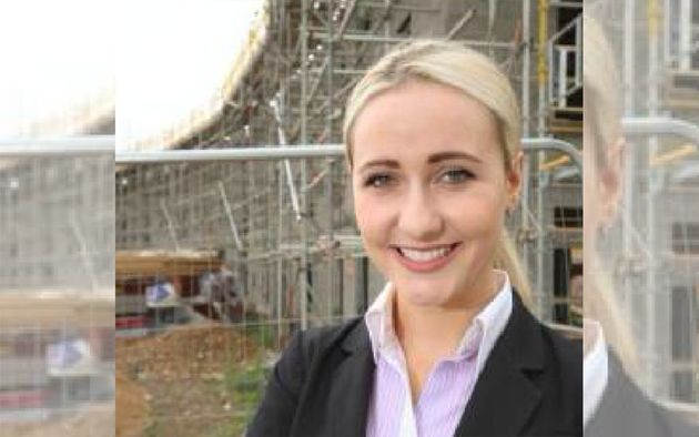 Building surveyor Sophie Smith said construction firms need to work extra hard to get women