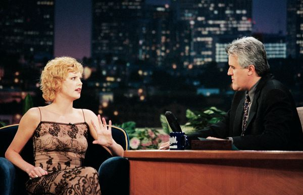 """On """"The Tonight Show with Jay Leno"""" in New York City."""