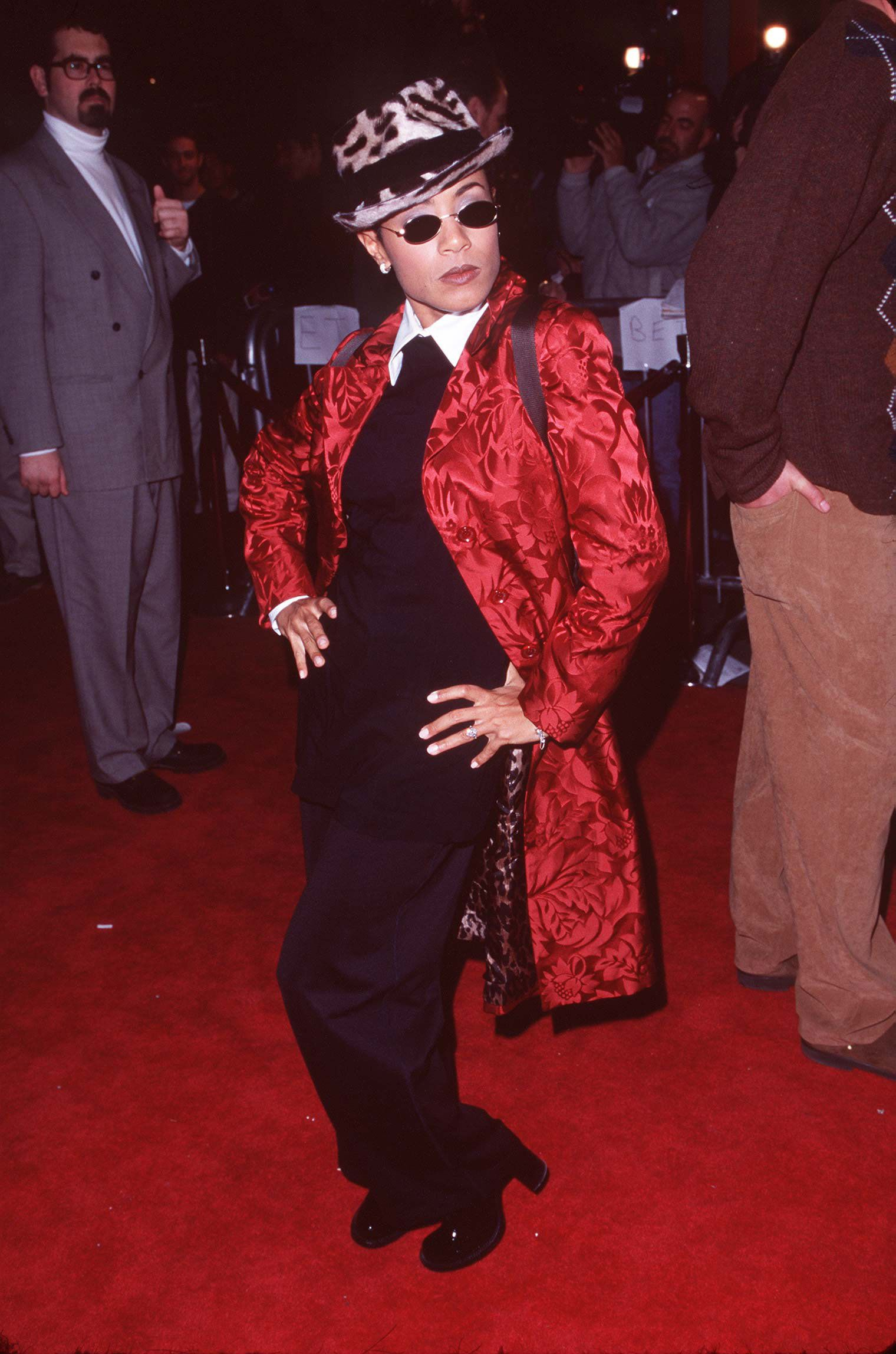 """At the""""Scream 2"""" premiere in Los Angeles, CA in 1997."""