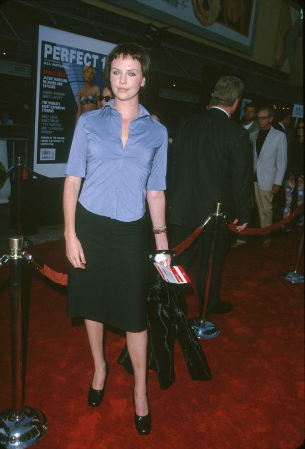 """At the premiere of """"American Pie."""""""