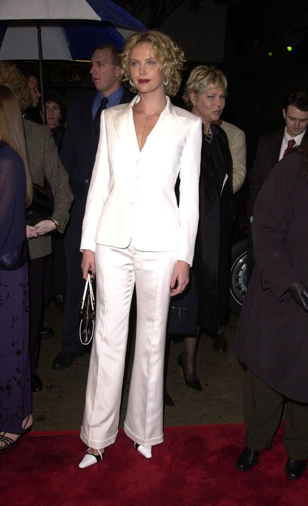 """At the """"Sweet November"""" premiere in Westwood, California."""