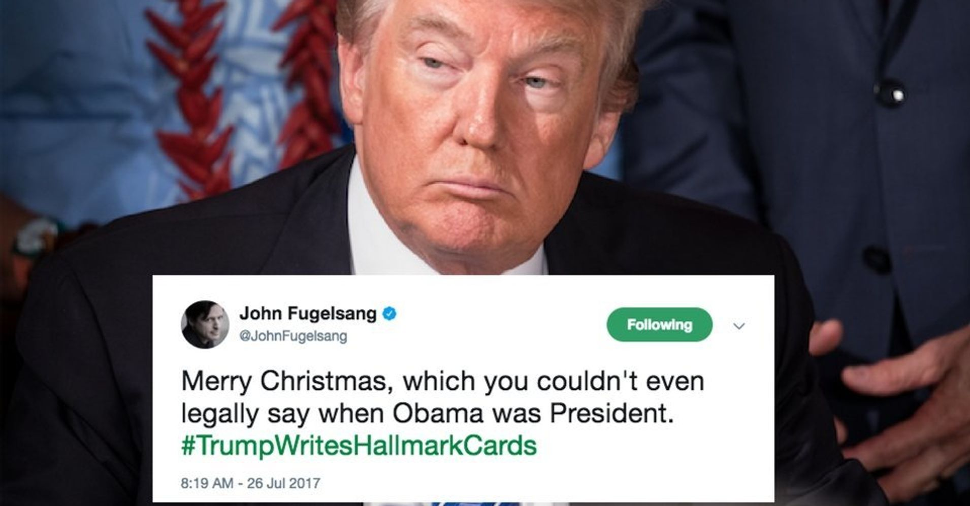 Twitter Imagines Trump As A Hallmark Card Writer And It\'s … Sad ...