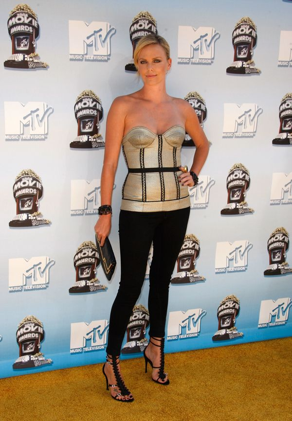 At the MTV Movie Awards in Universal City, California.