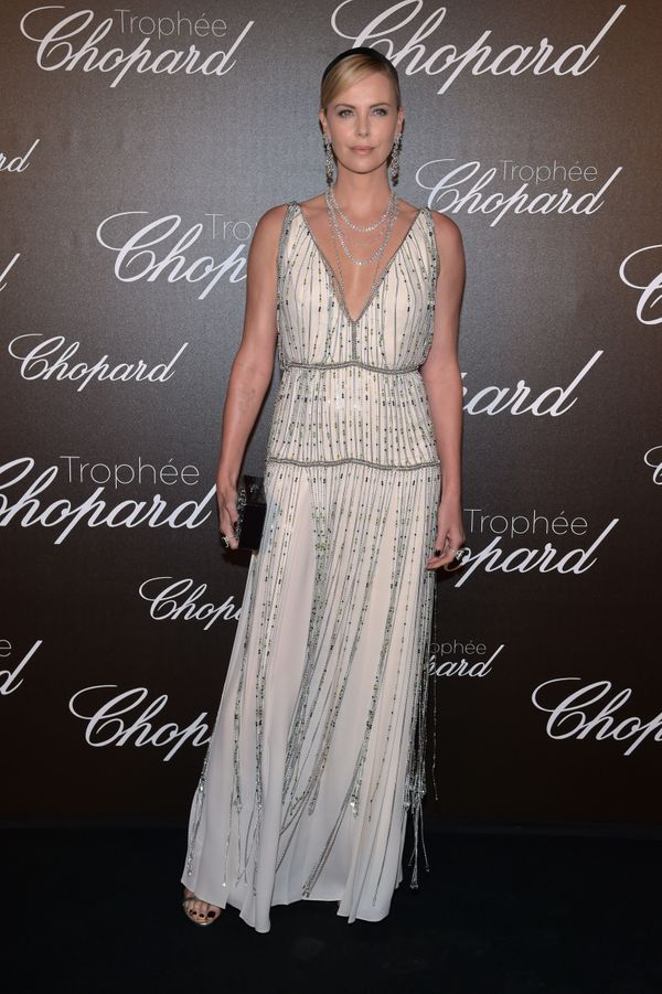 At the Chopard Trophy photocall in Cannes, France.