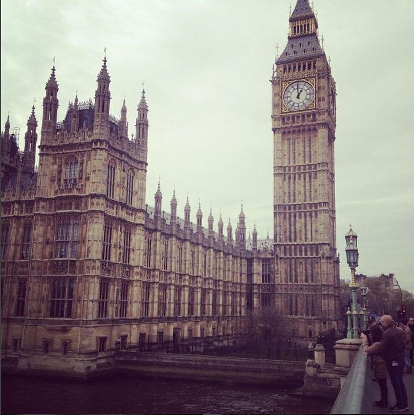 """Bong!"" - Big Ben. Location: London, United Kingdom"
