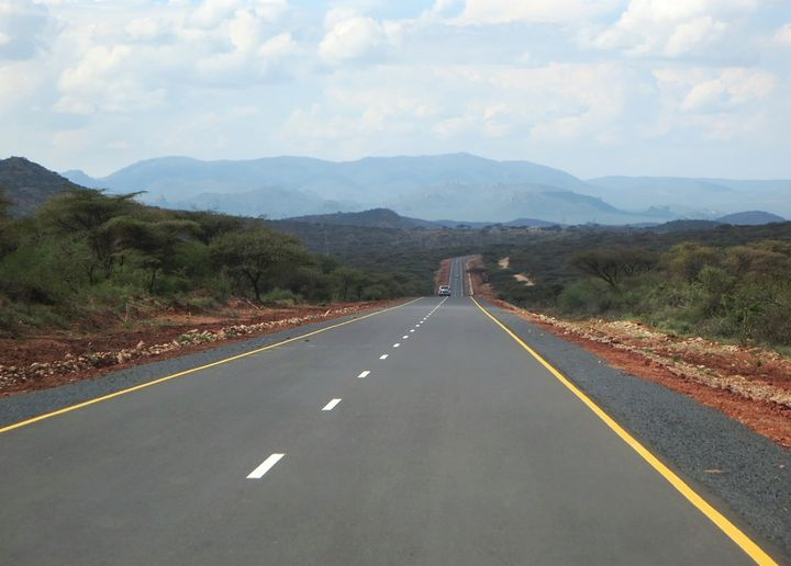 <em>A highway to peace and prosperity linking Kenya and Ethiopia through the boder town of Moyale in Northern Kenya.</em>