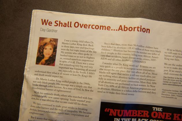Excerpts from an anti-choice pamphlet called