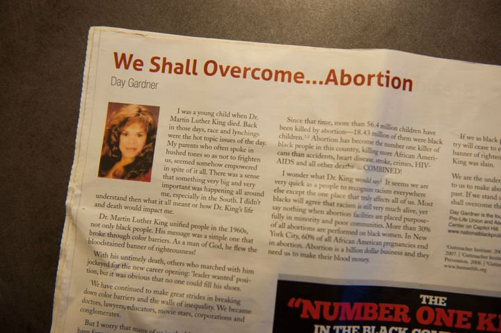 "Excerpts from an anti-choice pamphlet called ""Do You Know?"""