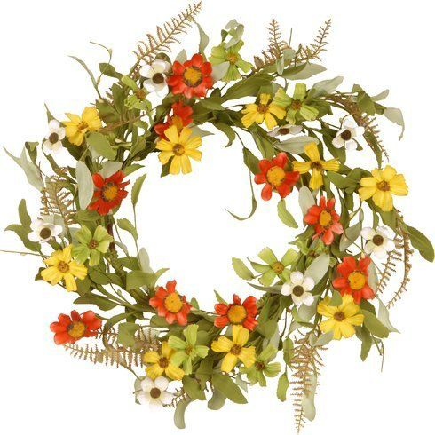 """<strong><a href=""""https://www.wayfair.com/National-Tree-Co.-Floral-Wreath-with-Sunflowers-NTC2611.html"""" target=""""_blank"""">Shop i"""