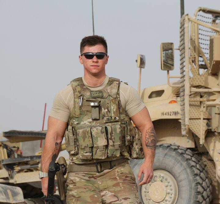 <p>USAF Staff Sergeant Logan Ireland</p>