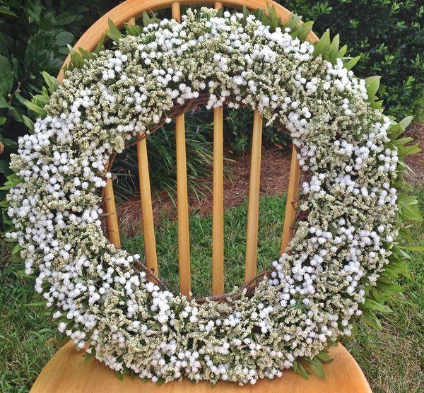 "<strong><a href=""https://www.etsy.com/listing/532252926/summer-wreaths-solid-babys-breath-wreath?ga_order=most_relevant&g"