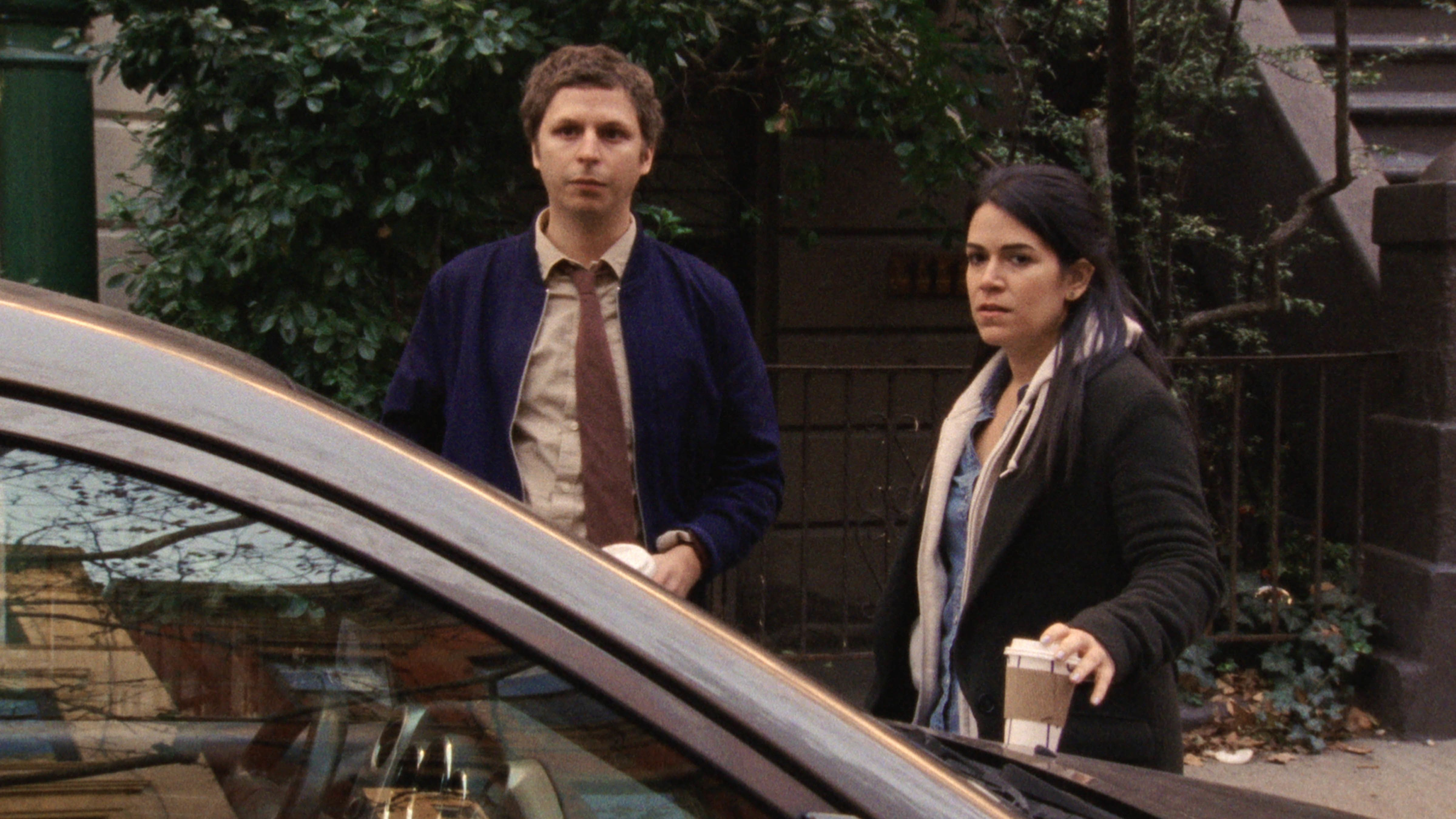 Michael Cera and Abbi Jacobson appear in <i>Person to Person</i> by Dustin Guy Defa, an official selection of the NEXT program at the 2017 Sundance Film Festival. Courtesy of Sundance Institute | photo by Ashley Connor.