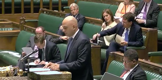 On July 20, Sajid Javid tells MPs no councils have contacted his department asking for financial help...