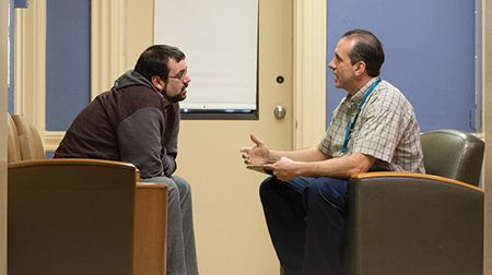 <p>McLean Hospital offers an array of psychiatric services for individuals who suffer from addiction to drugs and/or alcohol</p>
