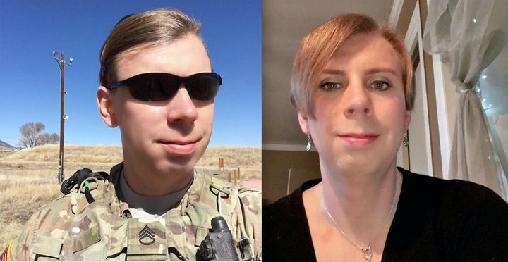 "Patricia King is openly trans and in the Army infantry. ""I will continue to show up to work and serve my country until"