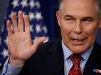 EPA Chief Met With Canada's Scientist-Muzzling Ex-Prime Minister Before Scientist Purge