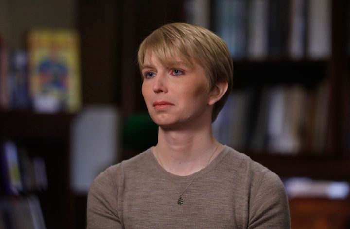 "Army Pvt. <a href=""https://www.huffpost.com/entry/chelsea-manning-donald-trump-military-transgender_n_5978959fe4b0a8a40e84234"