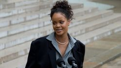 Rihanna Takes A Break From Stardom To Advise French President On