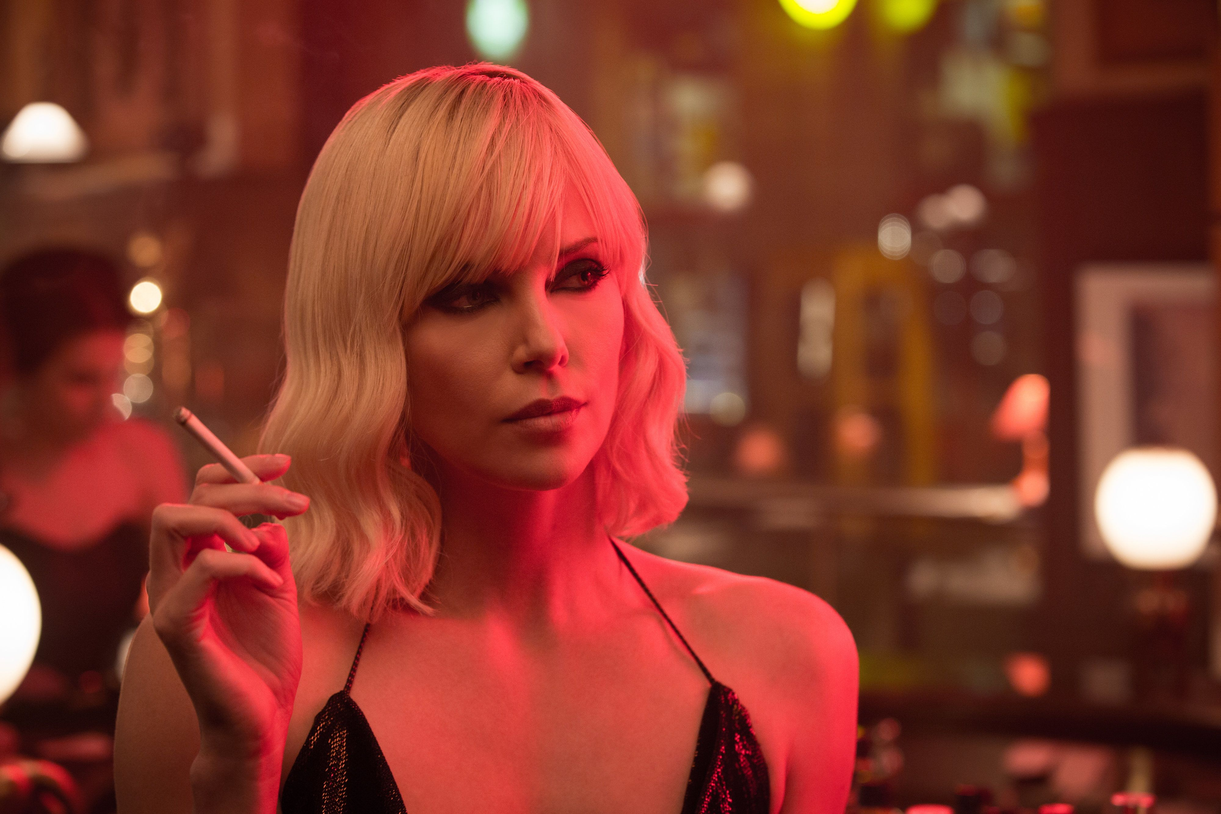 "Oscar® winner CHARLIZE THERON explodes into summer in ""Atomic Blonde,"" a breakneck action-thriller that follows MI6's most lethal assassin through a ticking time bomb of a city simmering with revolution and double-crossing hives of traitors."