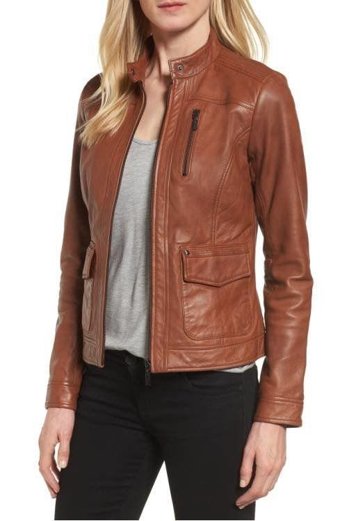 "<a href=""http://shop.nordstrom.com/s/bernardo-kerwin-pocket-detail-leather-jacket-regular-petite/4618993?origin=category-pers"