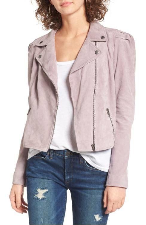 "<a href=""http://shop.nordstrom.com/s/leith-suede-moto-jacket/4553447?origin=category-personalizedsort&fashioncolor=PURPLE"