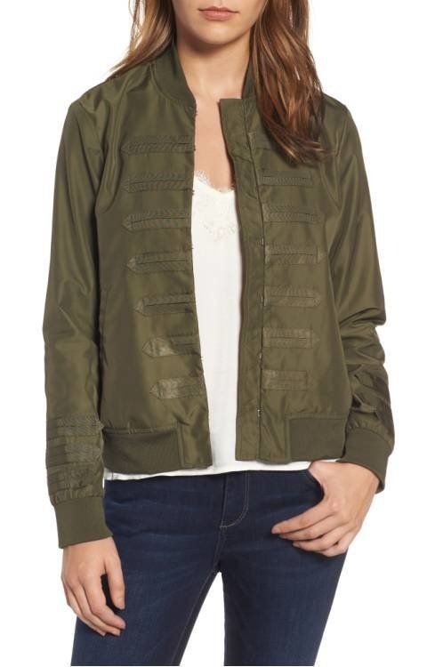 """<a href=""""http://shop.nordstrom.com/s/chelsea28-military-bomber-jacket/4559027?origin=category-personalizedsort&fashioncol"""