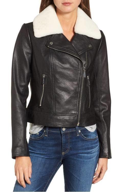 "<a href=""http://shop.nordstrom.com/s/michael-michael-kors-genuine-shearling-moto-jacket/4635218?origin=category-personalizeds"