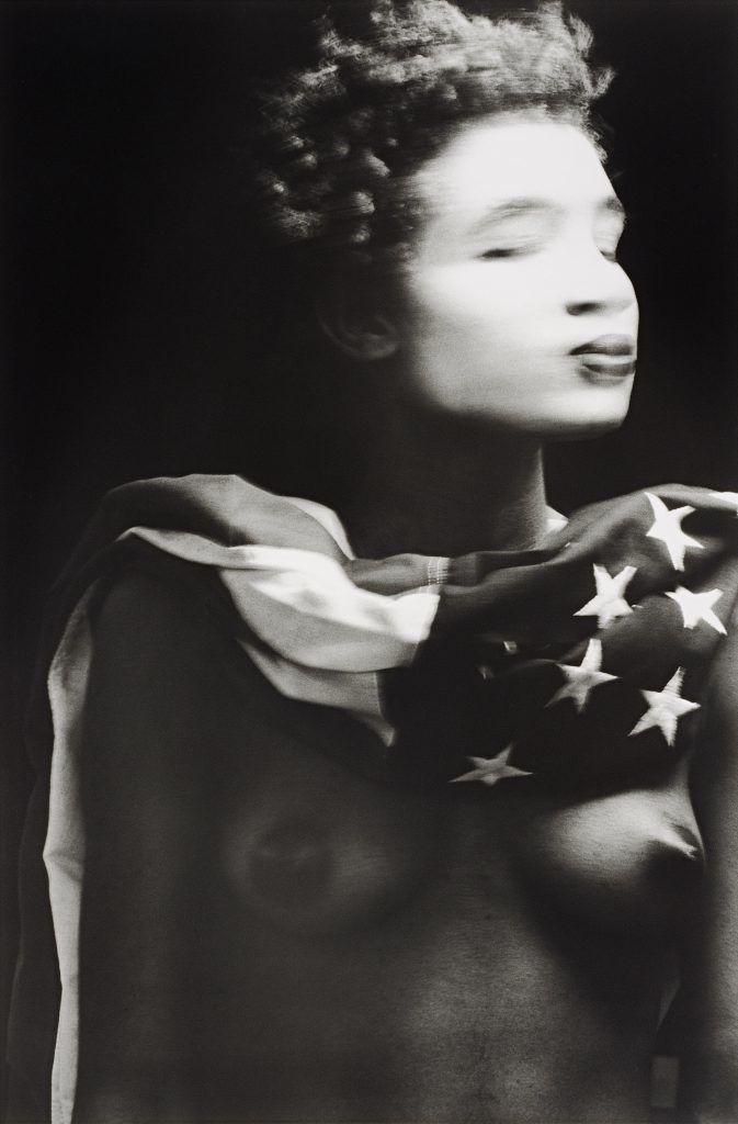 "Lyle Ashton Harris, ""Miss America,"" 1987-88, Gelatin silver print, The Studio Museum in Harlem,  Photo: Sasha J. Mendez"