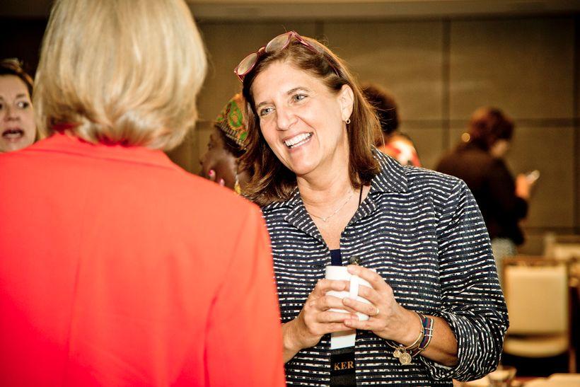 Stephanie Mathews O'Keefe, CEO of The International Women's Forum