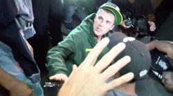 Video Shows Justin Bieber Accidentally Hitting Paparazzi Photographer With