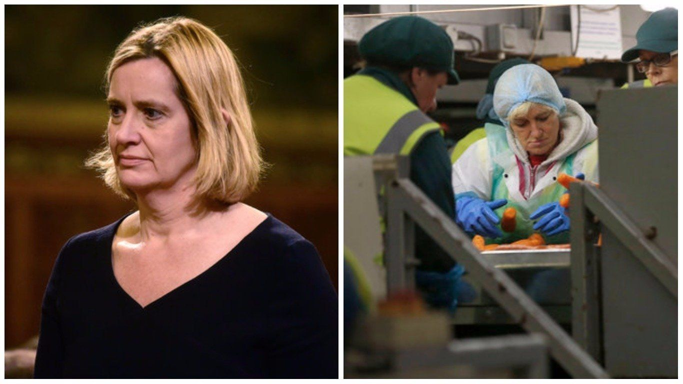 Amber Rudd Asks For Report On Benefits Of EU Migration, A Year After