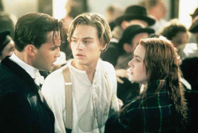 The trio starred in 'Titanic' in