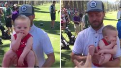 Justin Timberlake Held Baby During Golf Tournament And What He Did Next Was