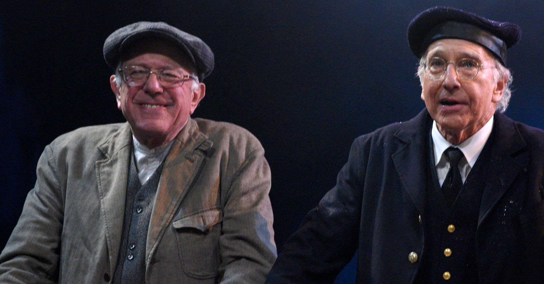 Larry David Just Found Out He's Related To Bernie Sanders