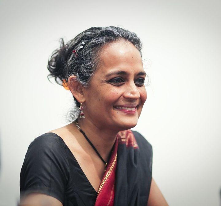 Arundhati Roy, in 2010.