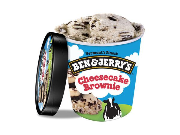This is the point in the list where we start falling in love.<br><br><i>Cheesecake ice cream with cheesecake brownie chunks.<