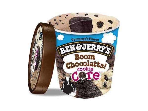 Again, good idea, but too much core.<br><br><i>Mocha and caramel ice creams with chocolate cookies, fudge flakes and a