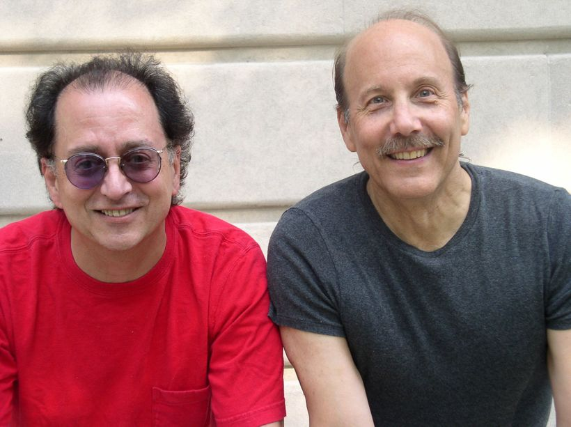 l to r: Robin Batteau, David Buskin