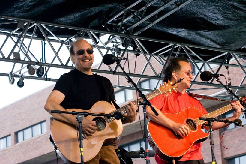 l to r: David Buskin & Robin Batteau