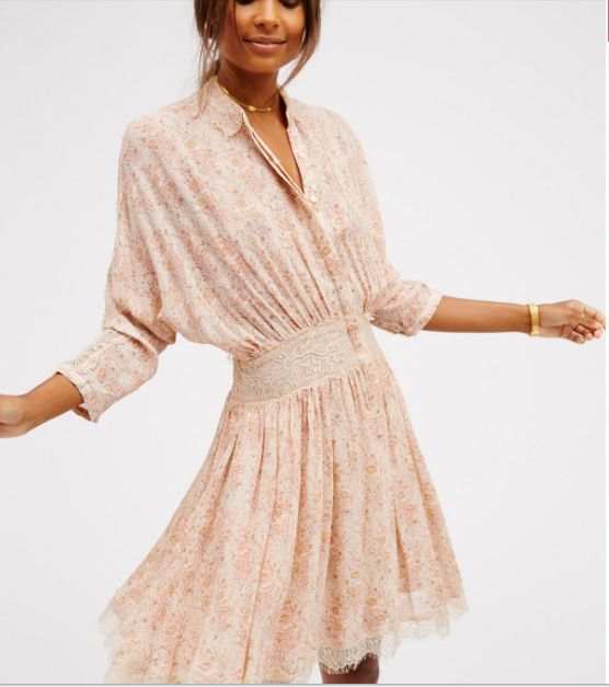 "Get the<a href=""https://www.freepeople.com/shop/latte-mini-dress/?color=011"" target=""_blank""> Free People latte mini dress, $"