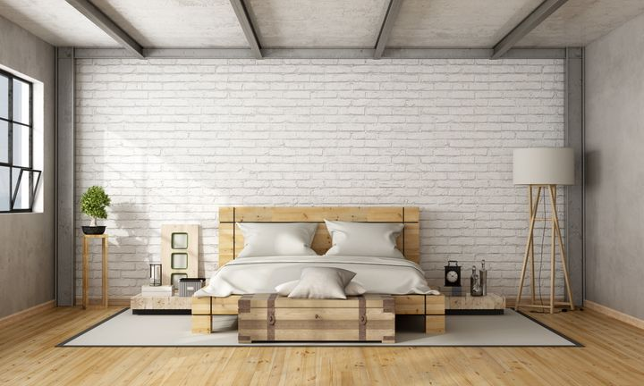 10 minimalist bedroom essentials according to an etsy for Minimalist living bedroom