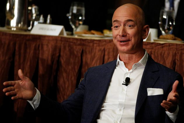 Jeff Bezos had leaped past Bill Gates for a while on