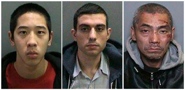 Inmates Jonathan Tieu, Adam Hossein Nayeri, and Bac Duong, spent about a week on the run in early