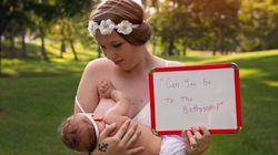 Madres lactantes cuentan en estas fotos los comentarios que reciben cuando dan el