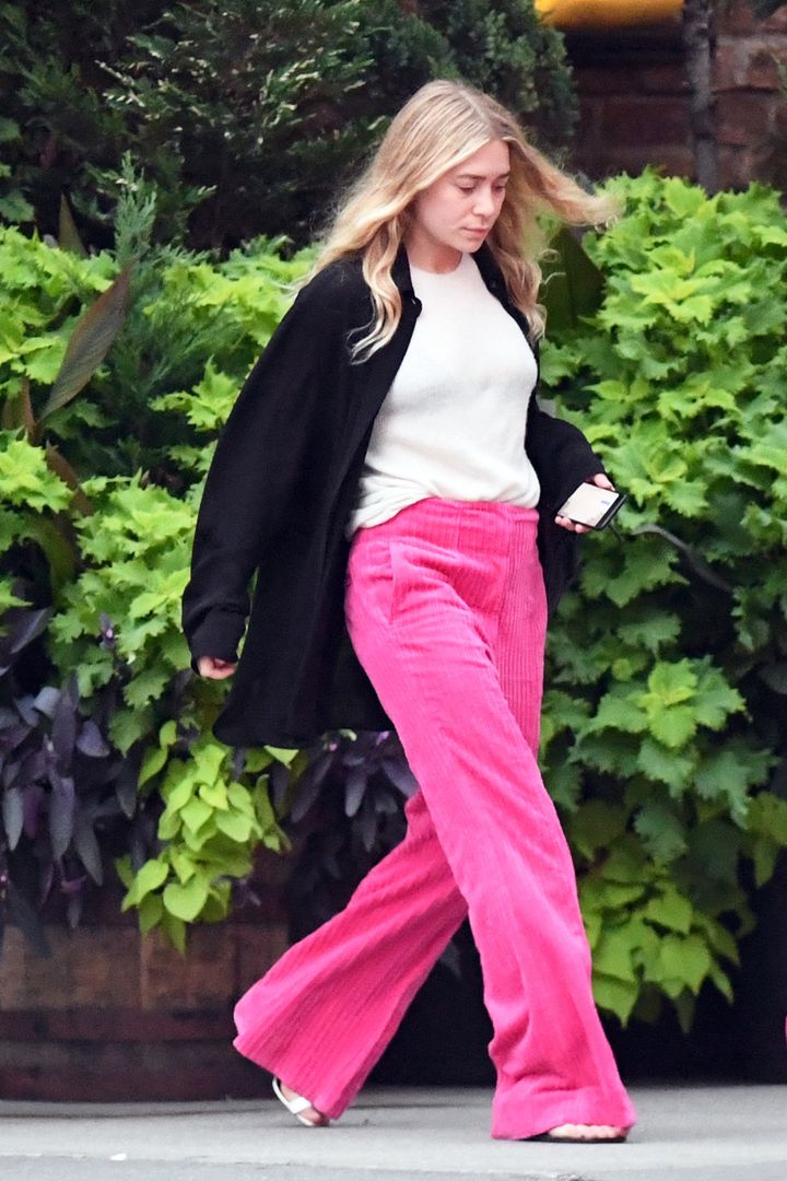 Ashley Olsen in New York City.